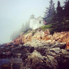 Liese Franklin-Zitzkat sent in this misty photo of the Bass Harbor Lighthouse.