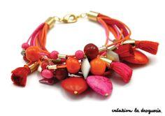 Bracelet façon Frida Khalo Latino