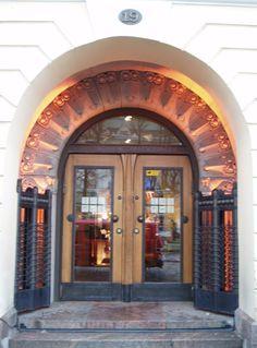 Cafe Jugend entrance, Helsinki