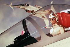 Angels, from Gerry Anderson's original 'Captain Scarlet' TV series. James Bond, Joe 90, Children Of The Revolution, Sci Fi Series, Tv Series, Thunderbirds Are Go, Fritz Lang, Sci Fi Tv, Cult