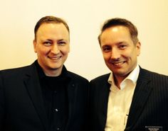 Mit Michael Meckel, nach meinem Vortrag im Logenhaus Düsseldorf