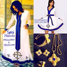 #ShareIG Habeshab Fashion Friday! More traditional styles from @abrahamsenait of Seni Habesha. You, your bridesmaids, and your werki. This gorgeous Meskel werki by @habeshagold1 will pair great with the blue center stone  #habesha #wedding #ideas #melse #melsi #bride #bridesmaids #habeshalibs #habeshakemis #zuria #habeshakidan #habeshabride #habeshabrides