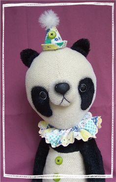 PDF Pattern Mohair Panda Bear 16 Japanese Style by kallie214, $12.00