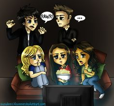 The Vampire Diaries omg I've always loves this cartoon!!
