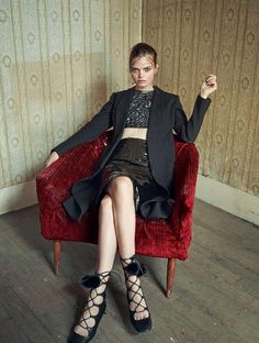 Marthe Wiggers by Marcin Tyszka for Marie Claire Italia November 2015 - Page 2   The Fashionography