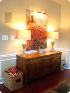 Our warm and cozy family room