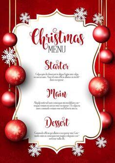 2018 party bash christmas card christmas event christmas flyer
