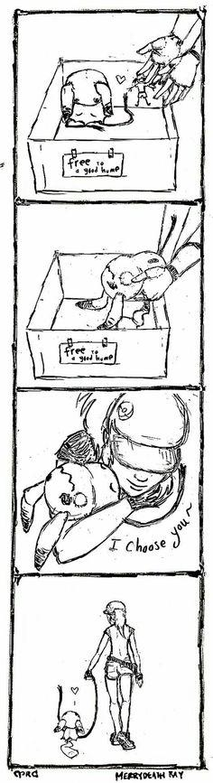 Mimikyu is my favorite pokemon!