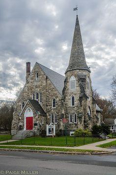 First United Presbyterian Church, Mumford, NY circa 1869-1883 by statPaige
