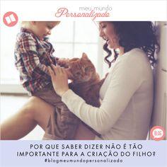 Saber impor limites para as #crianças é também uma maneira de moldar o caráter e demonstrar o amor e carinho que sentimos por elas, não é mesmo? Porém, mesmo tendo isso em mente, negar algo para os pequenos pode ser uma tarefa bem difícil para os #pais!  Confira o post que a Meu Mundo Personalizado preparou sobre o tema em https://meumundopersonalizado.com.br/blog/por-que-saber-dizer-nao-e-tao-importante-para-a-criacao-do-filho/