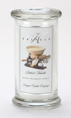 Baker's Vanilla Large Apothecary Jar Kringle Candle $19.96