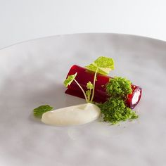 Beetroot, parmesan mousse, parsley crumbs and creme fraiche #fourmagazine #expertfoods #gastroart #chefstalk #TheArtOfPlating #ChefsOfInstagram #foodart #foodporn #foodphoto #hipsterfoodofficial #beautiful #food #yum #beautifulcuisines