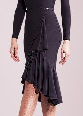 Chrisanne Clover Shadow Latin Skirt