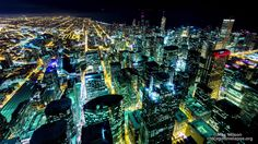 Chicago looks like something straight out of Blade Runner inMax Wilson's vibrant time lapse montage of the city. The video is a sequel to Wilson's firs