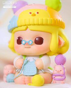 Minico Colorful Sweater 15cm vinyl art toy by Popmart Vinyl Toys, Vinyl Art, Ready To Play, Third Birthday, Designer Toys, Cozy Sweaters, Cold Weather, Princess Peach, Hello Kitty