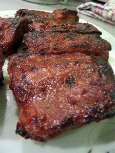 Steak, Bbq, Pork, Barbecue, Kale Stir Fry, Barrel Smoker, Steaks, Pork Chops