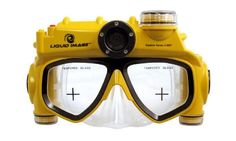 The Only Digital Camera Swim Mask. This is the world's only swim mask that has an integrated waterproof digital / video camera, eliminating the need to carry an underwater camera, keeping your hands free as you swim. Tech Gadgets, Cool Gadgets, Electronics Gadgets, Underwater Video Camera, Gopro Underwater, Water Camera, Snorkel Mask, Beach Gear, Tech Toys