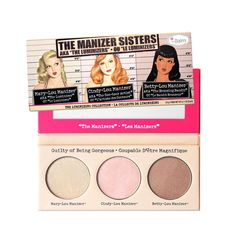 The Manizer Sisters, theBalm, R$ 150