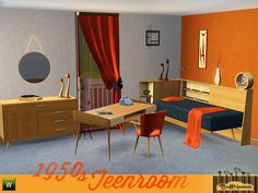 Let your Sim rock the 50ies!  Found in TSR Category 'Sims 3 Kids Bedroom Sets'