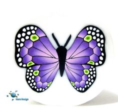 Purple butterfly cane | Flickr - Photo Sharing!