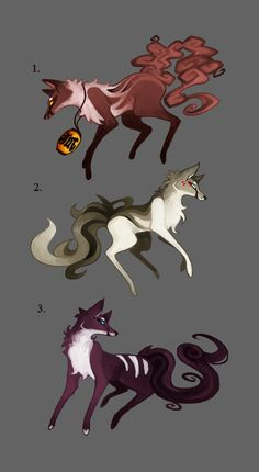 Character Designs Auction [OVER] by zeraan on DeviantArt Fox Character, Anime Animals, Fox Design, Creature Design, Art Sketches, Magical Creatures, Fantasy Creatures, Animal Drawings, Art Drawings