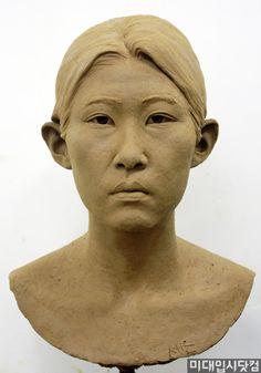 Sculpture Art, Statues, Sculpting, Portraits, Asian, Drawings, Face, Sculpture, Sculpey Clay