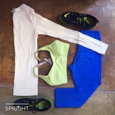 Need wardrobe inspiration for your next workout? Try a pop of color!