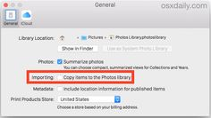 Disable Photos App Importing feature to stop copying images to Photos Library in OS X