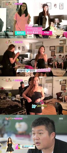 Song Ga Yeon transforms into a lovely lady on 'Roommate'   allkpop.com