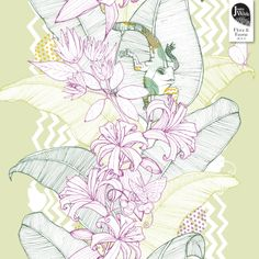 "Tropical Fusion ""Flora & Fauna"" Jessica Wilde 2014 © www.jessicawilde.co.uk"