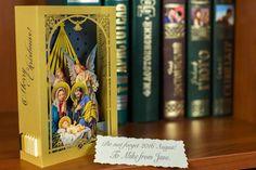Nativity Scene Jesus Birth, Tunnel Card