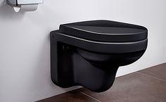 Seinä-WC Artic 4330 - musta