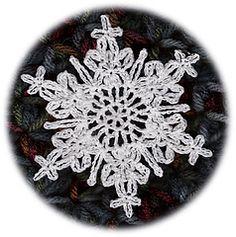 Ravelry: Shimmering Snowflake pattern by Cheri Mancini