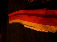 Beautiful Handmade Multi-Color Shawl 8 Wide By 45 1/2 Long For Women or Girls #Handmade #ShawlWrap #Colddays