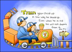 Doodle Through The Bible: Proverbs 22:6, Train your child up in the way he should go. . . Free downloadable content at the website incuding a printable PDF coloring page and also PNG elements file for the digital artists :)