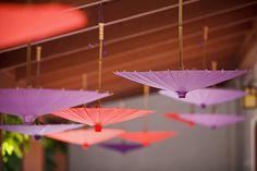 Wedding parasols