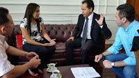 """Noticias de Cúcuta: Gobernador ofreció su respaldo a esposa de """"Moncho..."""