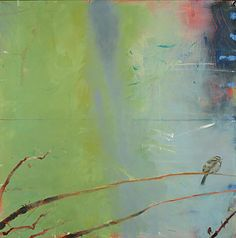 Karen Z. Haynes | Sentinels, oil on canvas