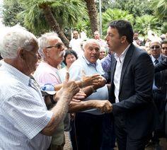Matteo Renzi in Puglia e a Taranto per l'Ilva