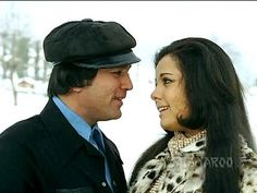 Karvaten Badalte Rahe - Rajesh Khanna - Mumtaz - Lata - Aap Ki Kasam - Kishore - Best Hindi Duets