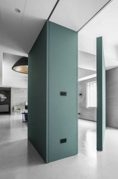 Wei Yi Design Creates A Flexible Living Space With Movable Walls For Taipei Apartment Movable Partition, Movable Walls, Partition Design, Taipei, Murs Mobiles, Moving Walls, Office Fit Out, Furniture Direct, Apartment Design