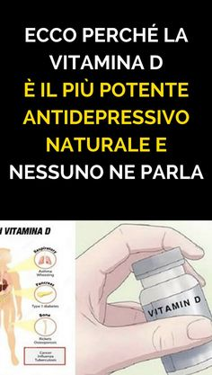 Ecco perché Vitamina D è il più potente antidepressivo naturale e nessuno ne parla Artemisia Annua, I Wish I Knew, Beauty Tips For Skin, Natural Medicine, Burn Calories, Self Improvement, Natural Health, Body Care, Natural Remedies