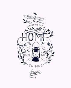 Foy Vance - Guiding Light When I Need to get home you're my guiding light. Lyrics Illustration by www.elliecryer.com