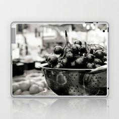 Grapes Laptop & iPad Skin by Anja Hebrank - $25.00 #grapes #market #shopping #food #stilllife #fruit #fruits #london #nottinghill #blackandwhite #essen #cooking #kochen #streetphotography #canon #present #decoration #kitchen #interior #bnw #blackwhite #travelling #travelphotography #design #individual #society6 #print #art #artprint #laptop #laptopskin #laptopcover