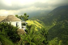 strawberry hill jamaica - one of the most romantic places on the Earth.  I want to go back!
