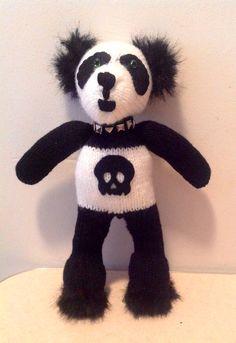 Goth Panda Bear