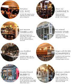 highchairs & stroller friendly–an nyc restaurant roundup