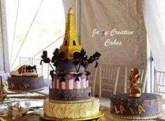 Wedding, Quinciañera, Groom's Cakes and Sugar Art in El Paso Texas