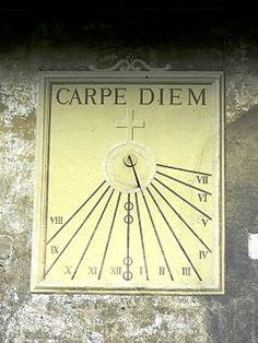 From Wikiwand: Carpe diem