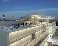 MAR - Museu de Arte do Rio - Rio de Janeiro - Praça Mauá 5 - Centro Telhado = ondas do MAR